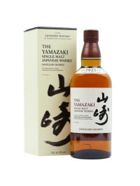 Yamazaki - Japanese single malt whisky Distiller`s Reserve + gb - 0.7L