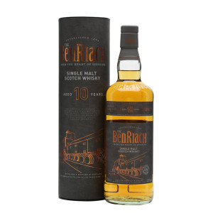 The BenRiach - Flagship Scotch single malt whisky 10yo - 0.7L, Alc: 43%