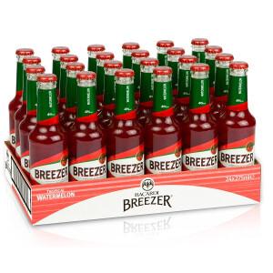 Bacardi Breezer - watermelon  0.275 L X 24