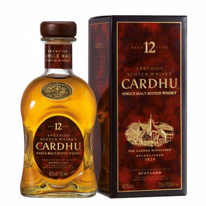 Cardhu - Scotch single malt whisky 12 yo gift box - 0.7L, Alc: 40%