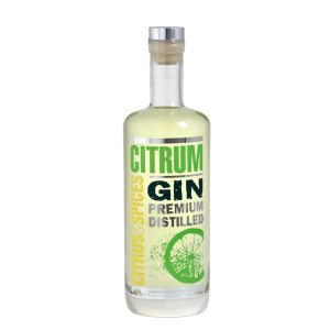 Citrum Gin - Premium Distilled - 0.7L, Alc: 40%