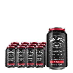 Jack Daniel's RTD - Jack & Cola 12 buc x 0,33L, Alc: 5%