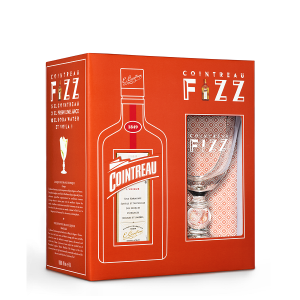 Cointreau - Lichior + 1 cocktail glass - 0.7L, Alc: 40%