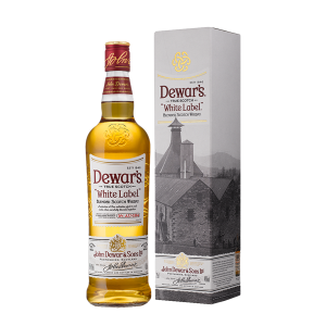 Dewar's - Scotch blended whisky white label gift box - 0.7L