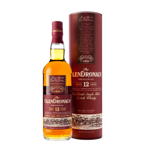The Glendronach - Original Scotch Single Malt Whisky 12 yo GB - 0.7L, Alc: 43%