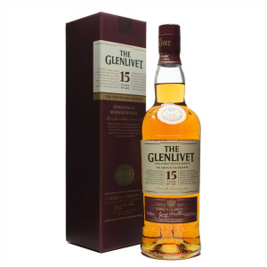 Glenlivet 15 yo 0.7 L - gift box