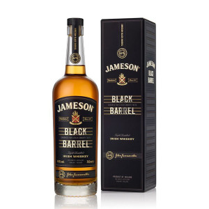 Jameson - Black Barrel Irish Blended Whiskey GB - 0.7L, Alc: 40%
