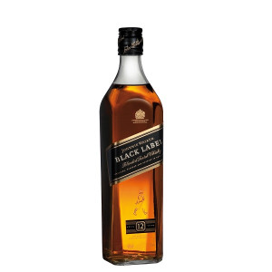 Johnnie Walker - Black Label scotch blended whisky1L