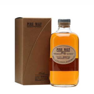 Nikka - Japanese blended whisky pure malt black + gb - 0.5L, Alc: 43%