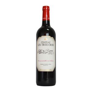 Sacha Lichine - Chateau Les Trois Croix aoc, rouge, Fronsac 2011 - 0.75L, Alc: 14%