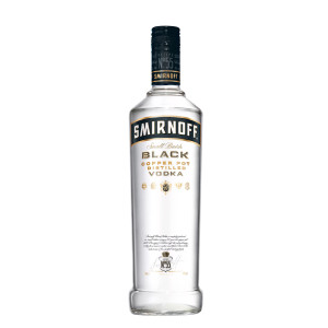 Smirnoff - Vodka black label - 1L, Alc: 40%