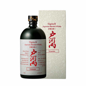 Togouchi - Kiwami Japanese blended whisky + gb - 0.7L, Alc: 40%