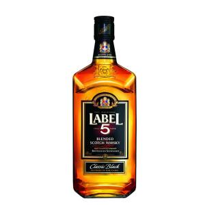 Label 5 - Scotch blended whisky - 0.7L, Alc: 40%